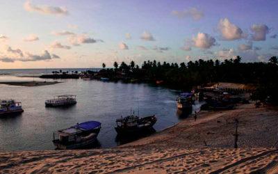 Praia de Mundaú – Encontro do Mar com o Rio