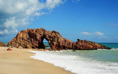 Praia de Jericoacoara é um paraíso encantado no Ceará