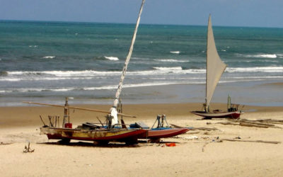 Praia de Parajuru é o paraíso no litoral do sol nascente